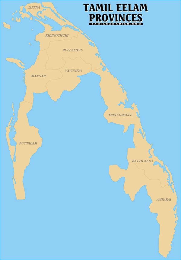 tamil eelam Tamil eelam is a de facto state in indian ocean it is located below the tamil  nadu state of india and in the north east of sri lanka the state of tamil eelam  has.